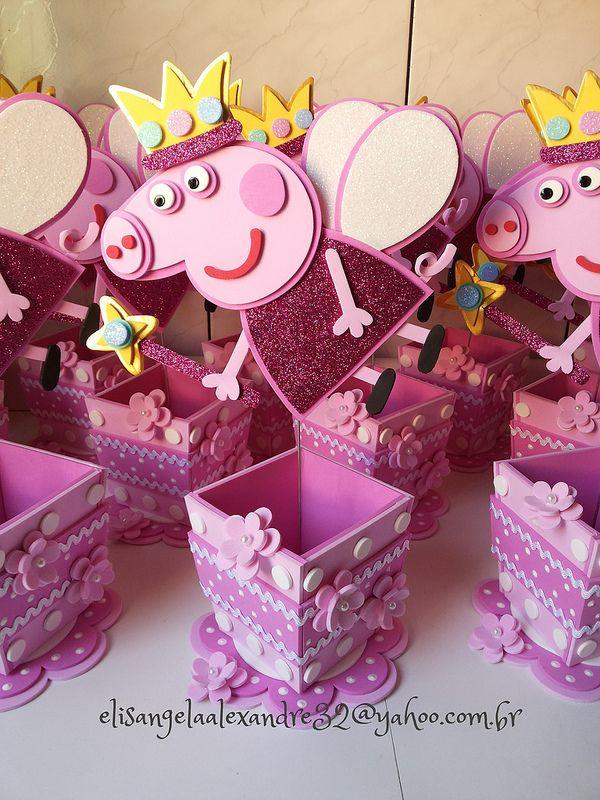 Peppa Pig en fomy (goma eva)