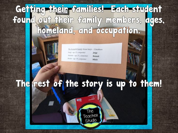 elementary essay on immigrant Port of entry: immigration is a sample lesson highlighting the immigrant experience in  image you select or present your images as a picture essay.