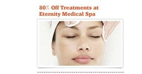 Online Voucher Code / I got 85% off at my local spa