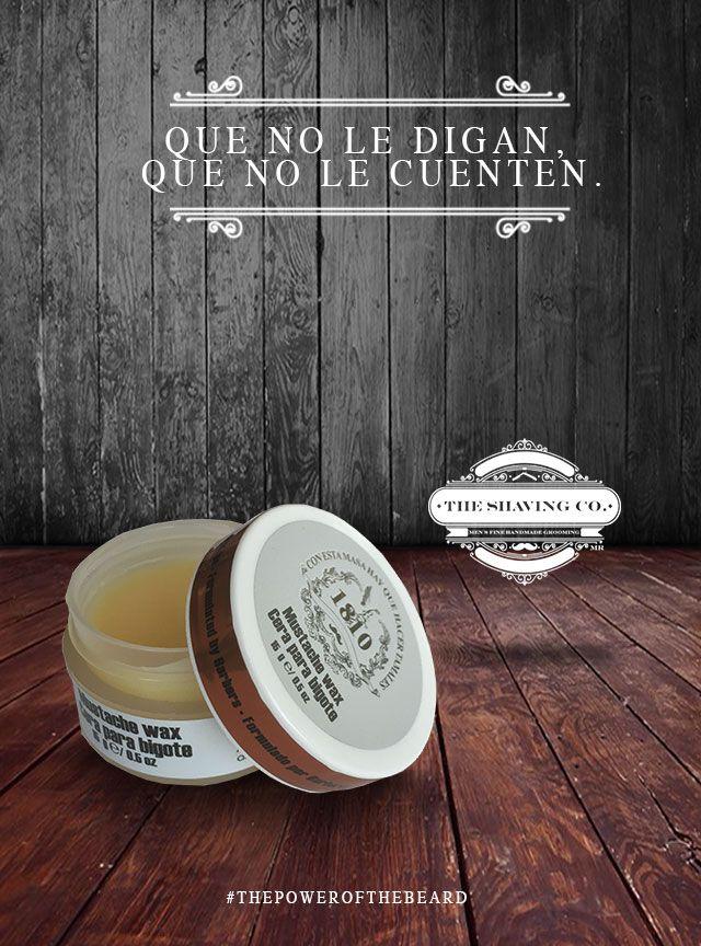 MUSTACHE WAX 1810 Ha sido creado con ingredientes naturales y aceites esenciales para suavizar los vellos faciales del #bigote y lograr una fijación fuerte que permita dar forma y #estilo adecuado con mucha facilidad. bit.ly/1WiBVAM #ThePowerOfTheBeard #HombreModerno #MarcaTuEstilo