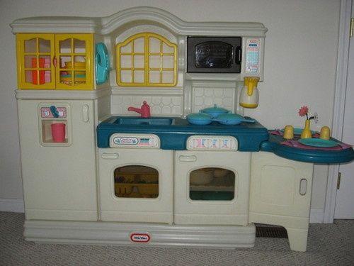 Little Tikes Kitchen Play Kitchenscountry Kitchensvintage Playroomtoy
