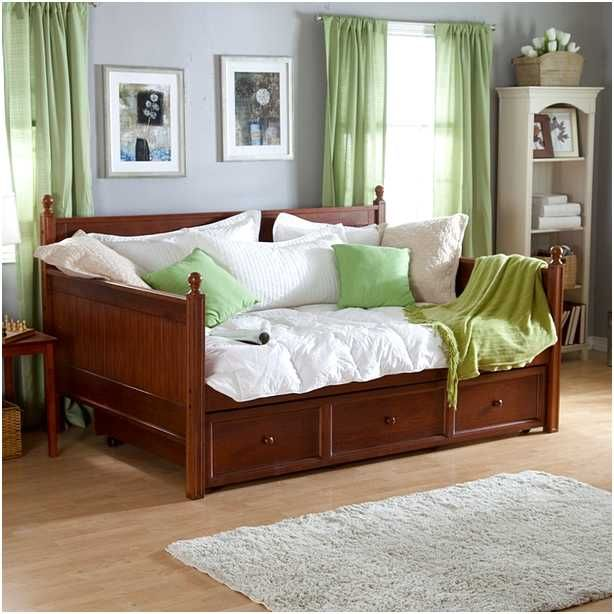 Daybed Converts To Queen : Full size daybeds with trundle home