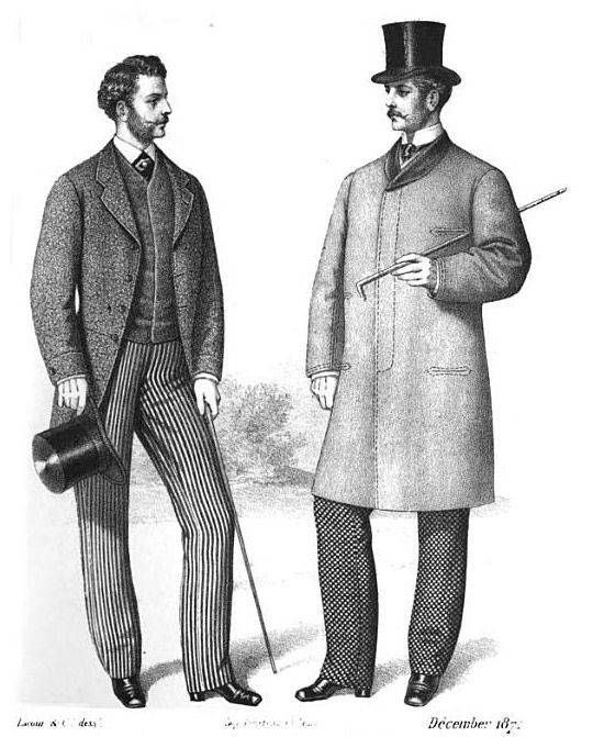 Gazette Of Fashion And Cutting Room Companion 1872 Upper Class Men Pinterest