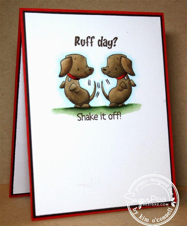 SugarPea Designs Hot Diggity Dog by Kim O'Connell