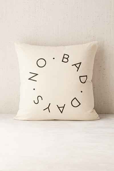 Assembly Home No Bad Days Pillow - Urban Outfitters