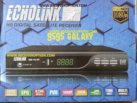 ECHOLINK 9595 GALAXY HD RECEIVER POWERVU KEY FIXED NEW
