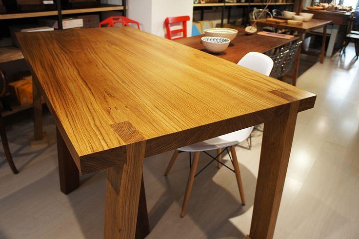 Oak table 80x160