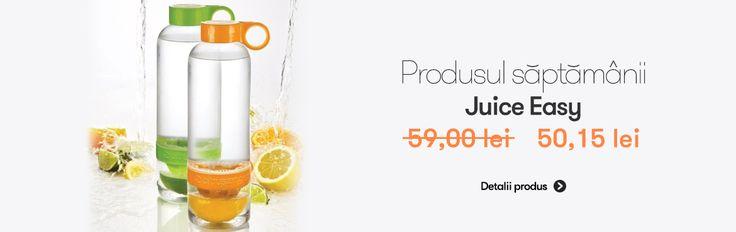 Produsul saptamanii la #reducere (-15%) este: #JuiceEasy ---  http://goo.gl/BDWJEO