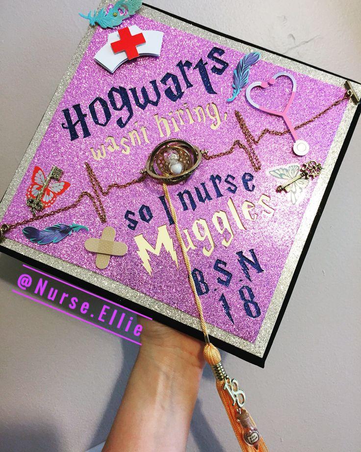 My Harry Potter Graduation Cap # RN #BSN # 2018