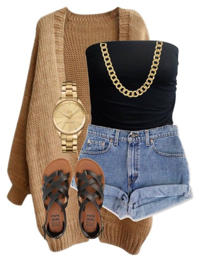 """""""Untitled #33"""" by rosymamii on Polyvore featuring Coach, Lacoste and Billabong"""