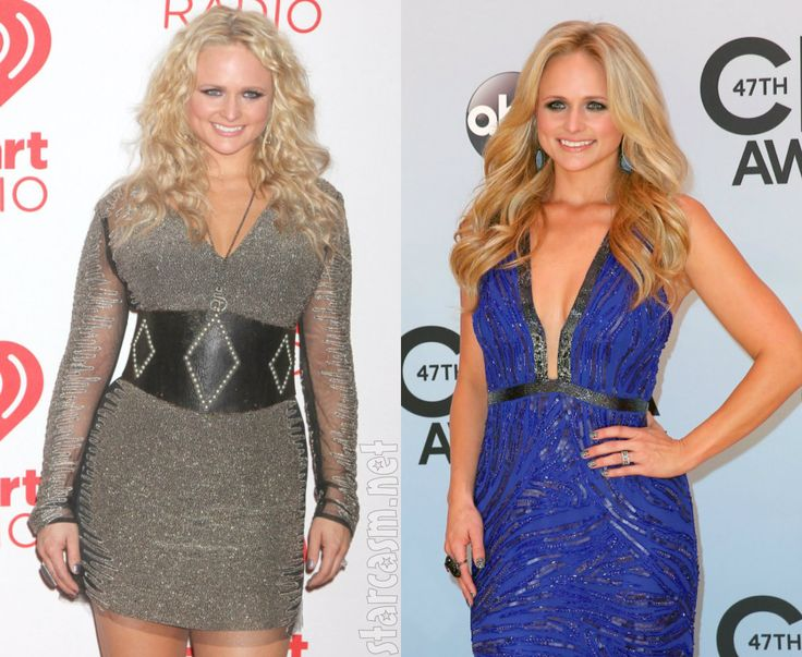 before and after miranda lambert weight loss