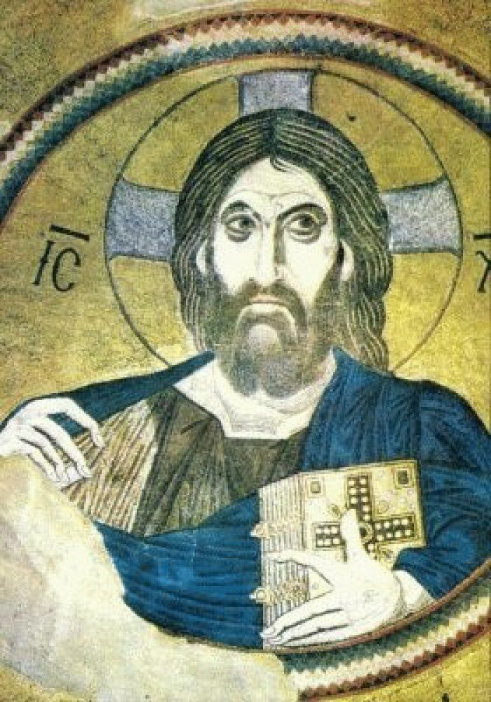 Christ Pantocrater by an unknown artist, 1090-1100