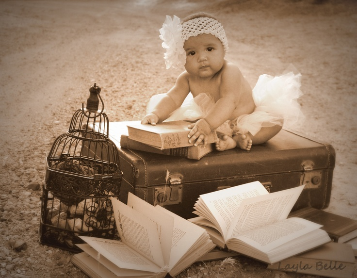 Vintage Baby Photo Shoot...so adorable..