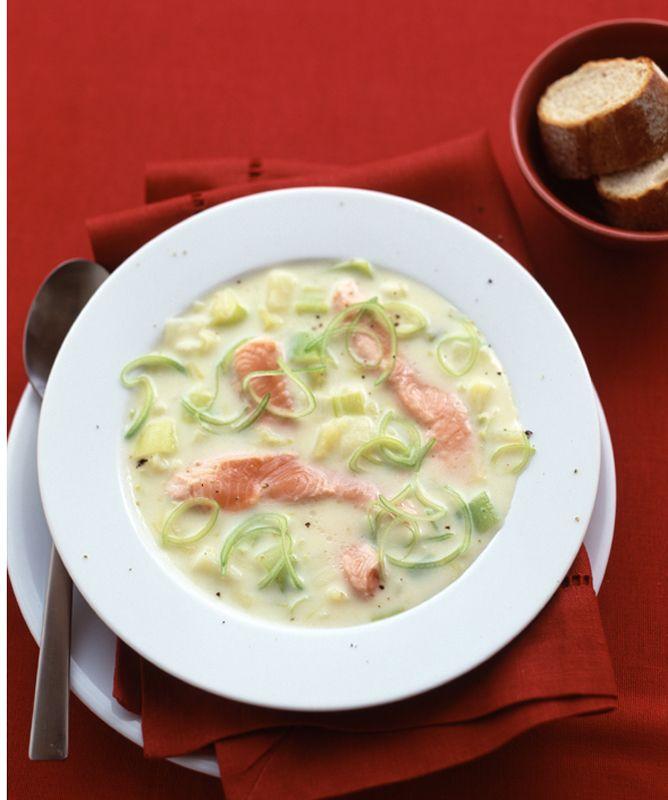 Eén pan en maar vijf ingrediënten heb je voor dit gerecht nodig. Nog een voordeel: de preisoep staat in no time op tafel. Nog meer smaak? Maak dan je eigen vis- of kippenbouillon om het water te vervangen.