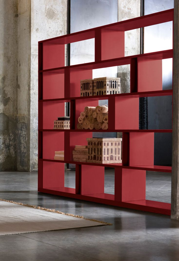Sectional bookcase BRERA BRERA Collection by EmmeBi design Lievore Altherr Molina