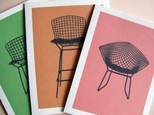 Bertoia Chair Notecards