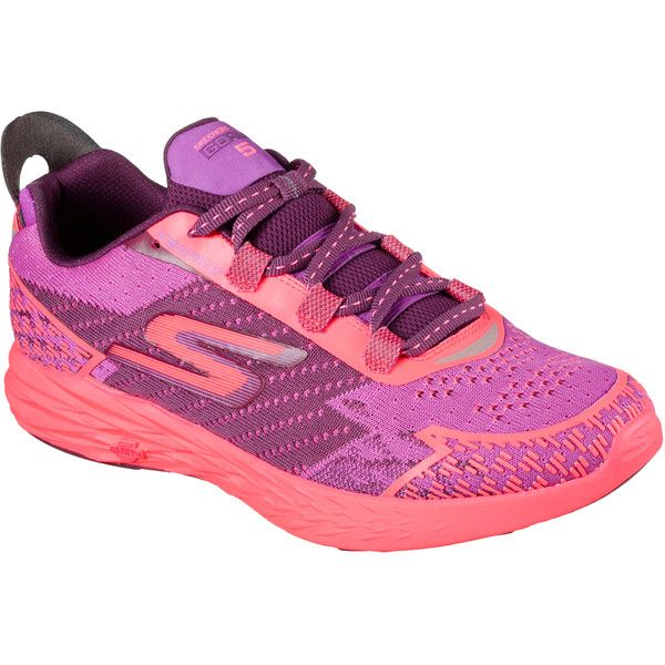Skechers Women's Skechers Gorun 5 - Nite Owl Purple - Skechers... (1,805 EGP) ❤ liked on Polyvore featuring shoes, purple, skechers footwear, skechers, skechers shoes, purple shoes and owl shoes