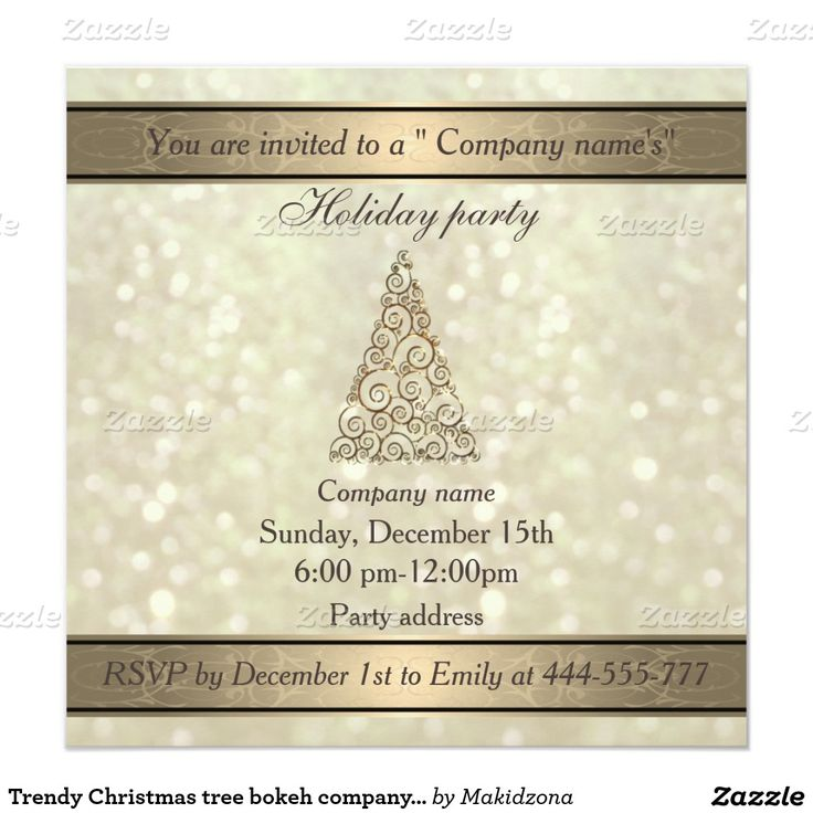 13 best Christmas Invite images on Pinterest | Christmas décor ...