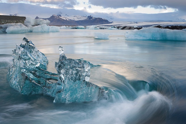 Image result for stock images Iceland icy sea billows aroused by the southern winds