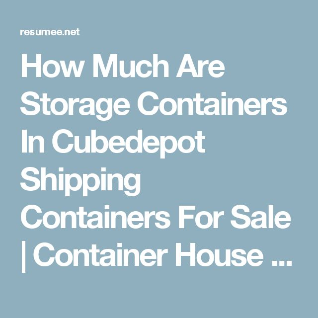 25 Best Ideas About Storage Containers For Sale On