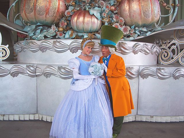 Cinderella And Mad Hatter Disney Live Action Movies Disney Live Action Disney Parks