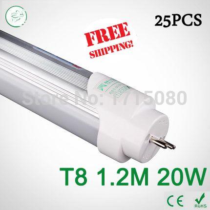 $209.92 (Buy here: https://alitems.com/g/1e8d114494ebda23ff8b16525dc3e8/?i=5&ulp=https%3A%2F%2Fwww.aliexpress.com%2Fitem%2F25pc-4ft-Brightness-T8-led-Tubes-1200mm-20W-SMD-2835-Led-Bulb-lights-Fluorescent-Tube-4000k%2F32333575794.html ) 25pc 4ft Brightness T8 led Tubes 1200mm 20W SMD 2835 Led Bulb lights Fluorescent Tube 4000k AC85~265V Constant Current via FedEx for just $209.92