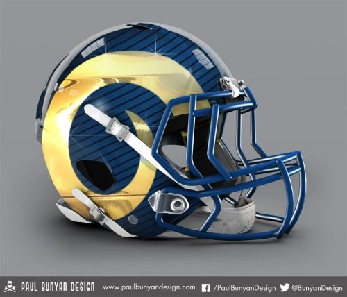 Designer gives all 32 NFL helmets a bold makeover