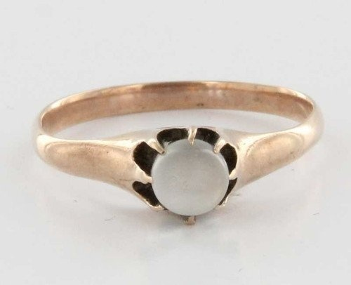Estate Jewelry For Sale | ... 10k Rose Gold Moonstone Ring Fine Estate Jewelry Vintage Used For Sale