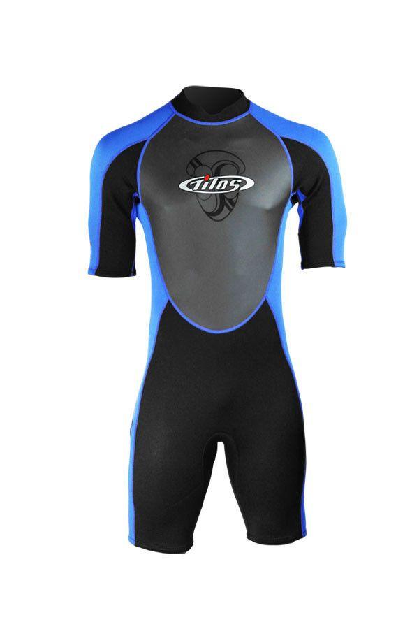 TILOS 2mm wetsuit scuba diving equipment surf kayak shorty ...