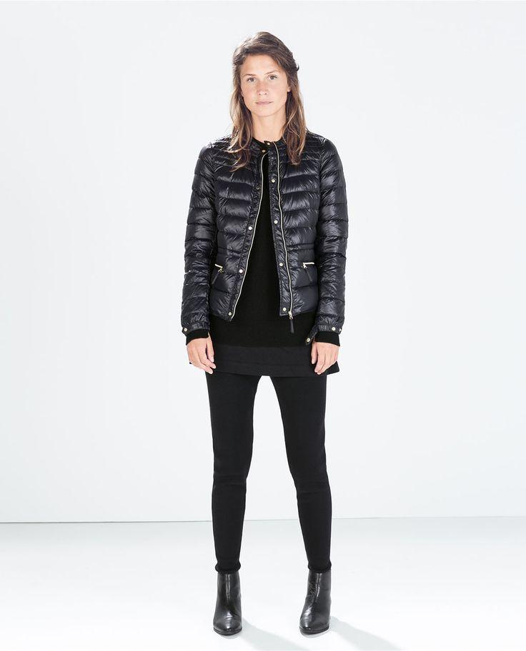 Image 1 of ULTRALIGHT SHORT DOWN JACKET from Zara