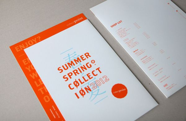 Collect Point 2012 - SS by THINGSIDID, via Behance
