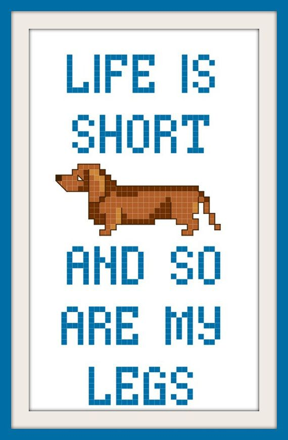 Hey, I found this really awesome Etsy listing at https://www.etsy.com/listing/195763442/dachshund-wiener-dog-funny-cross-stitch
