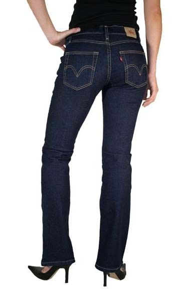 Rated 5 out of 5 by DCShopper88 from Very similar to Levis bootcut jeans I have been wearing Levi's bootcut jeans for the past 4 years. Levi's curvy mid-rise bootcut jeans fit nearly the same.