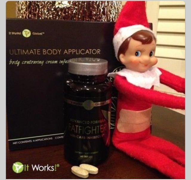 Happy holidays from your It Works Distributor www.lorrainewrap.myitworks.com