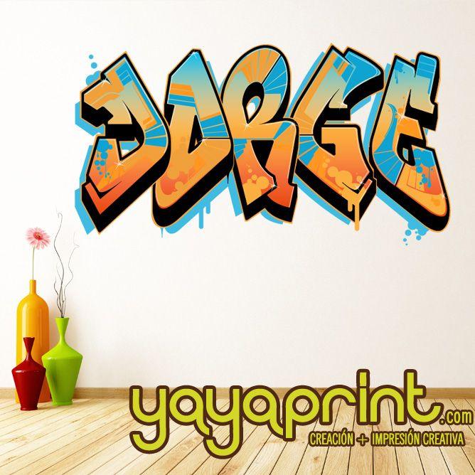 Las 25 mejores ideas sobre pared grafiti en pinterest - Habitaciones con graffitis ...