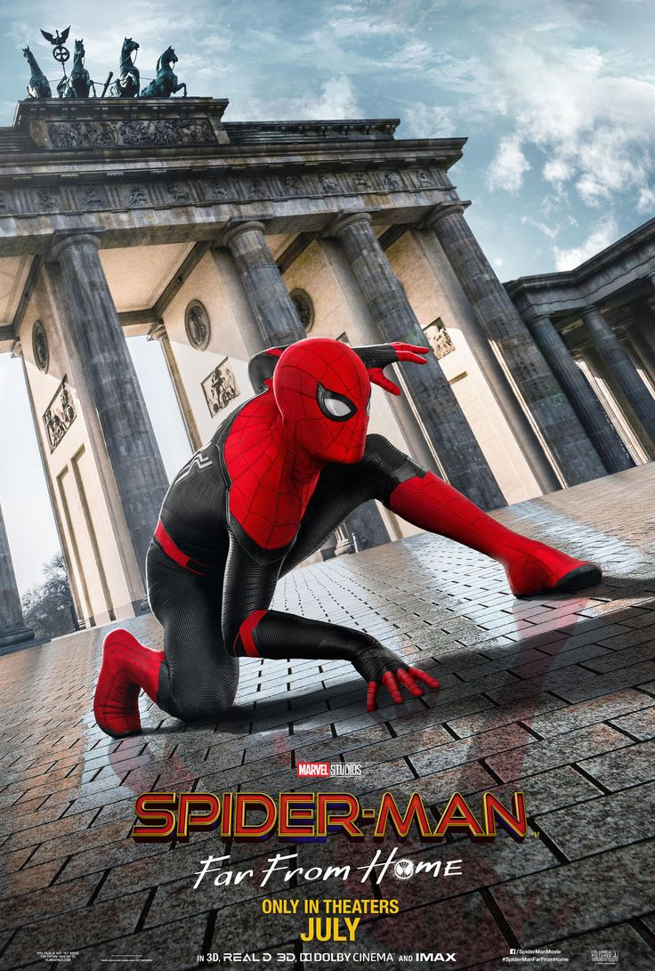 Spidey Swings Around Europe in New International Posters for 'Spider-Man: Far From Home' – Marvel Entertainment