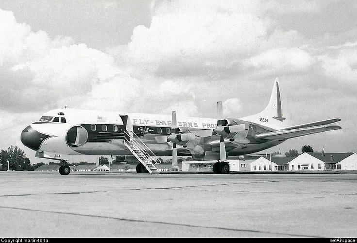Eastern Air Lines Lockheed L-188A Electra (N5534)   Photo 8543