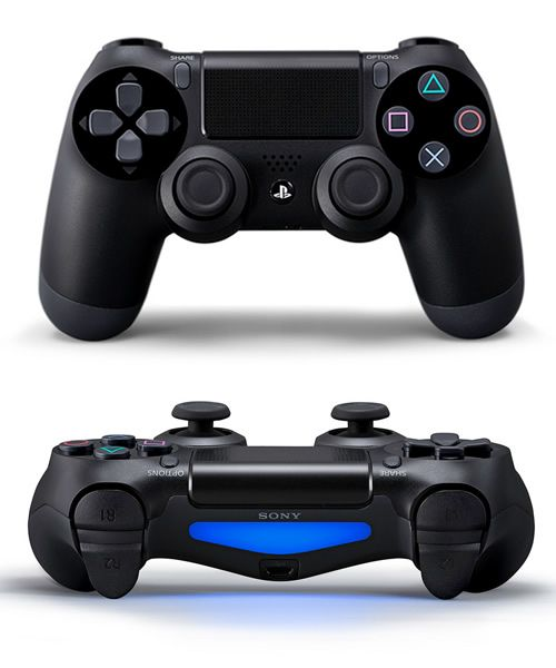Sony Playstation 4 Controller - I like it! But what does the console look like?