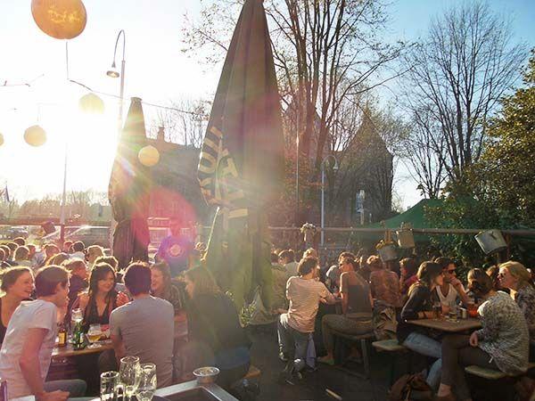 De Biertuin Amsterdam: hotspot in East