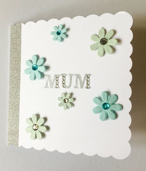 Mothers Day Card Happy Birthday Mum by CreationsbyLindsay17