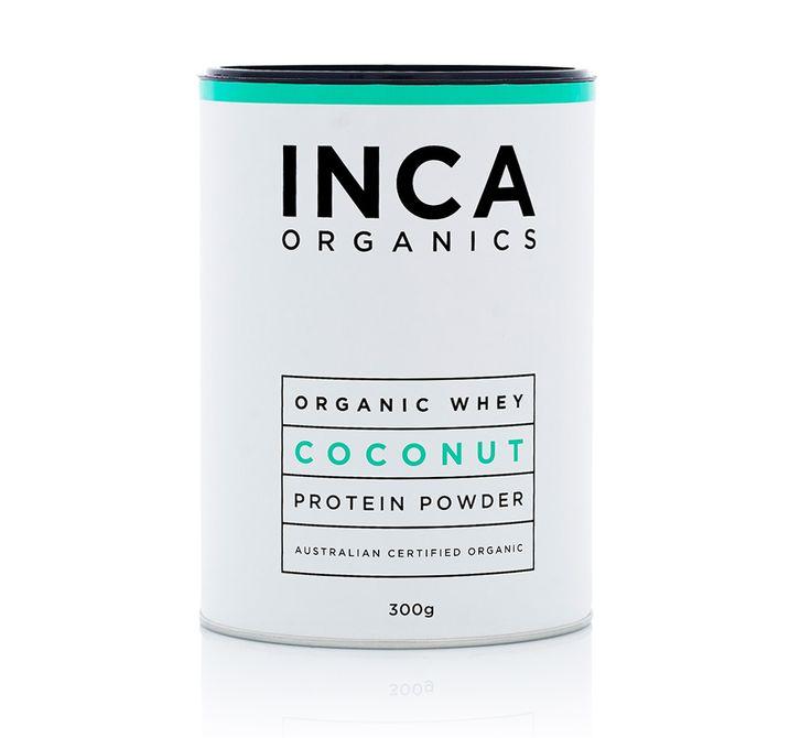 Inca Organics » Organic Whey Protein Powder (Coconut) - from A2 cows! $38