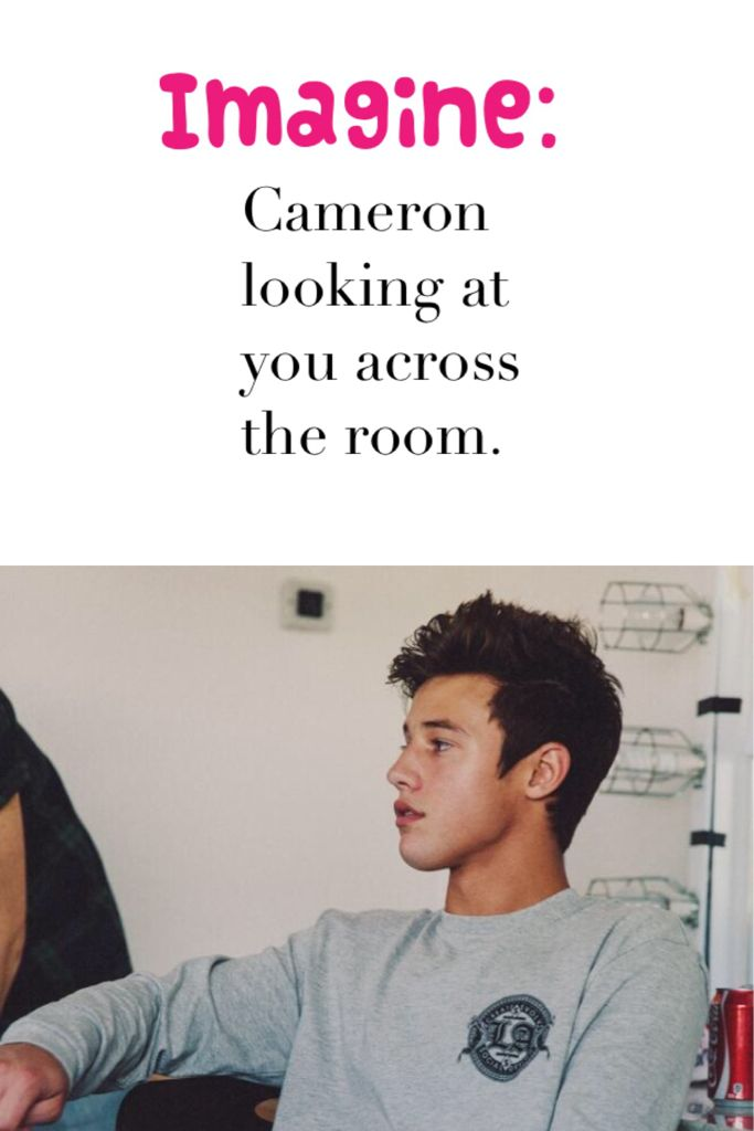 Group of: Imagine cameron dallas... | We Heart It