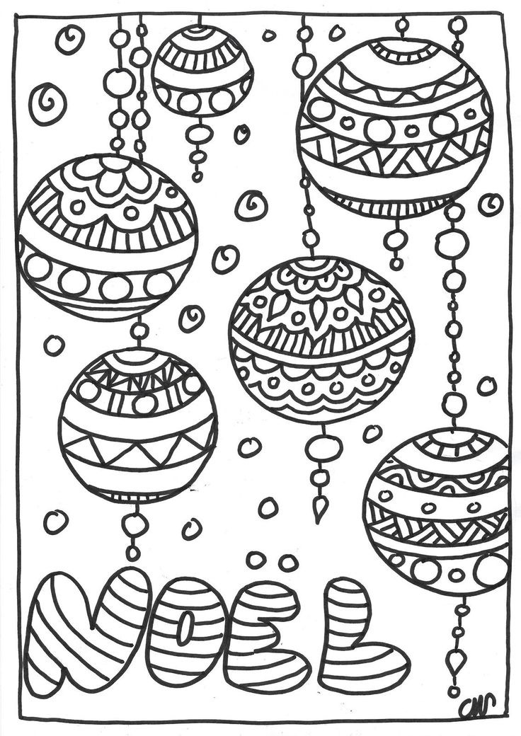68 best coloriages images on pinterest coloring pages bullet journal and doodle drawings - Coloriage mandala de noel ...