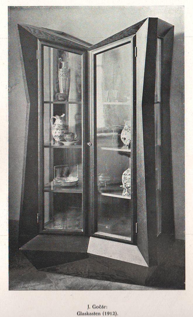 Gočár, Josef - Glaskasten (Glass Cabinet), 1912