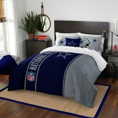NFL Dallas Cowboys Embroidered Comforter Set - BedBathandBeyond.com