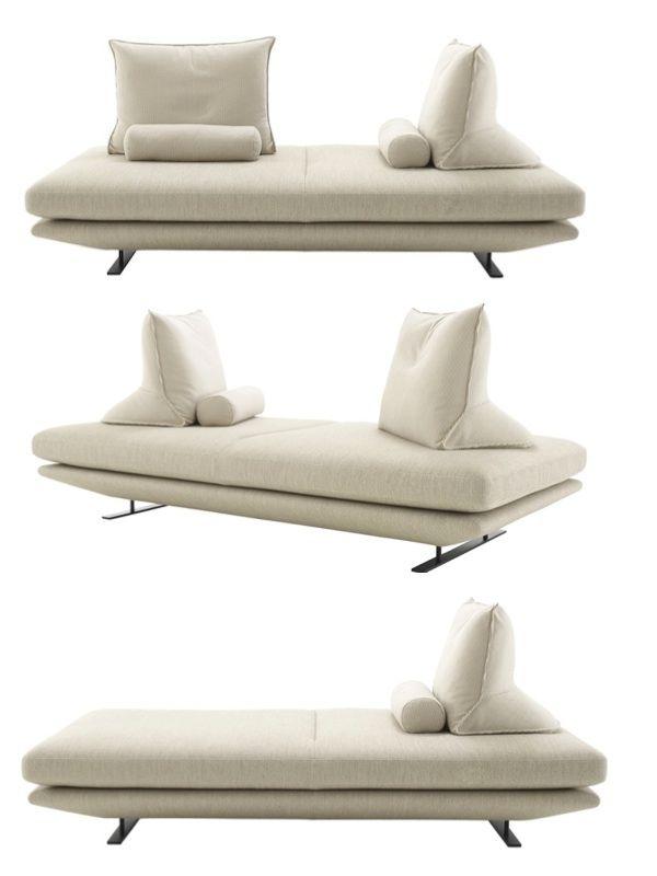 Prado Sofa with Movable Backrests- Christian Werner for Ligne Roset