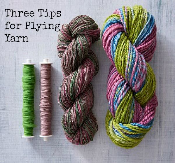 These tips and tricks will have you plying yarn like a pro in no time!