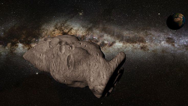 ICYMI: Asteroide del tamaño de un tranvía pasará este viernes muy cerca de la Tierra (FOTO)