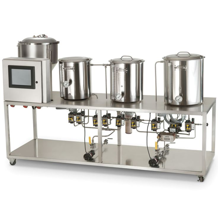 professional style microbrewery