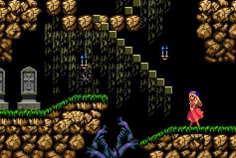 "pixelclash: ""  arm pit - Castlevania: Rondo of Blood (Konami - PC Engine - 1993) """